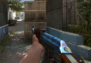 Example of a Blue Gem AK-47