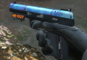 Example of a Blue Gem FiveSeven