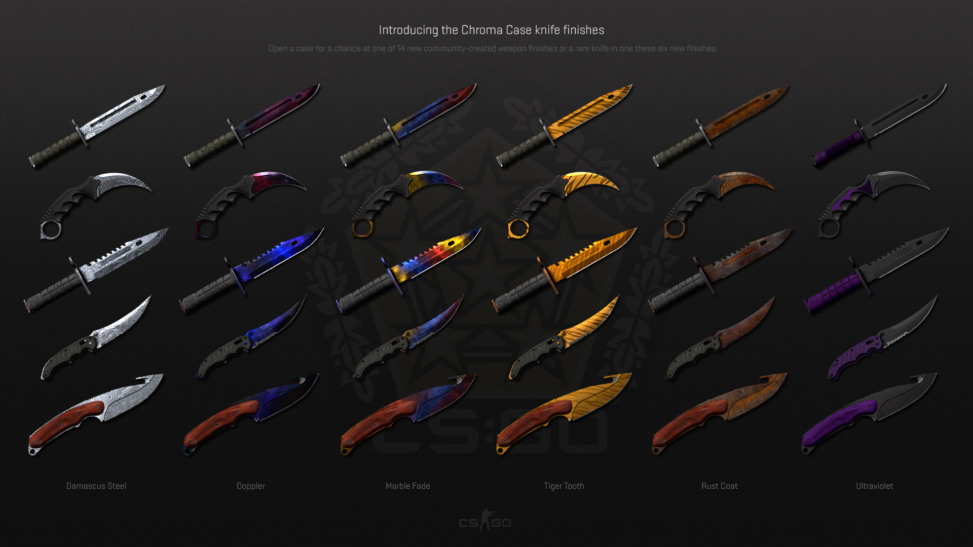 Chroma Knife Skins